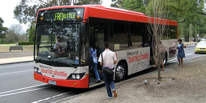 Melbourne Visitor Shuttle - Austrália